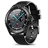 ELEGIANT Smart Watch, Fitness Tracker 24H Heart Rate Monitor, IP68 Waterproof Smartwatch for Men, Pedometern, Sleep Monitor, Exclusive 4+1Custom Dial Watch for Android Phones and iOS Phones,C520 Black
