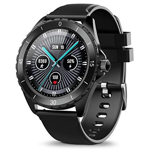 ELEGIANT SmartWatch, Reloj Inteligente IP68 con Pantalla Táctil de 1.3