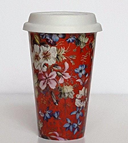 Bouquet Creative Tops Tasse de voyage à Double Paroi isotherme - 1 x couleur sur base aléatoire