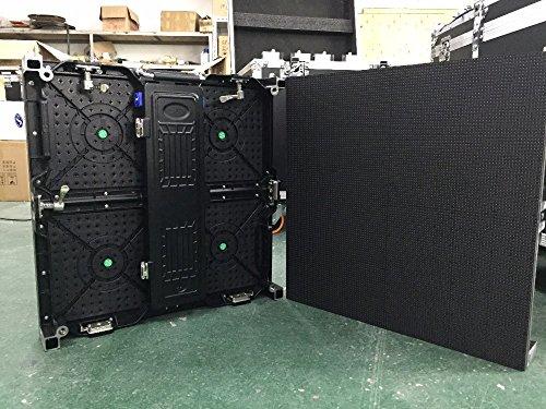 500x 500mm para interiores RGB pantalla LED p4.81interior armario de aluminio fundido...