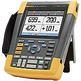 Fluke 190–204/EU/S, de mano de 4canales osciloscopio, Ancho de banda 200MHz, Scope metros 190Serie II, incluye software Case Kit scc2