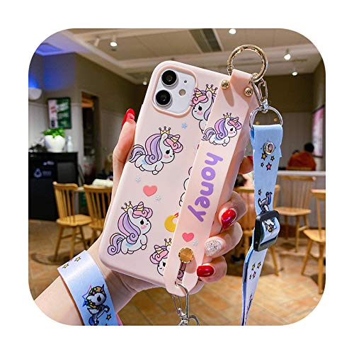 Funda para Samsung Galaxy A30S A20 A10 M30 M20 A71 A51 A80 A70 A60 A50 A40 A30 A10S A20S - Correa de muñeca para Samsung A20s