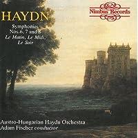 Symphonies 6-8 by Haydn