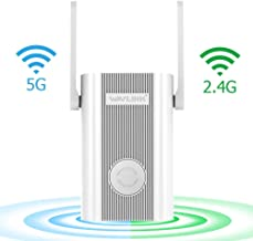 Wavlink WiFi Extender,WiFi Range Repeater 1200Mbps High Speed Signal Booster 2.4G + 5Ghz Dual Band Wi-Fi Amplifier Repeater with WPS