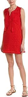Michael Stars Women's Braided Stripe with Lace Mix Shift Dress