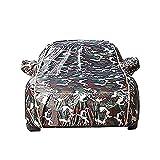 Copriauto da Esterno Copertura Auto Universale Completamente Impermeabile, AntiGraffio, Resistente, Cotone Traspirante Pieno, Resistente ZSMFCD (Color : E, Size : 3XXL:520x200x150cm)