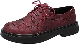 [KITTCATT] おでこ靴 ロリータ おじ靴 オックスフォード レディース フラットパンプス 森ガール 靴 ローヒール ブローグシューズ