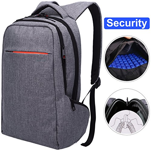 LAPACKER 15.6 Anti Theft Slim Water Resistant Laptop Backpack Bag for Men&Women Lightweight Business...