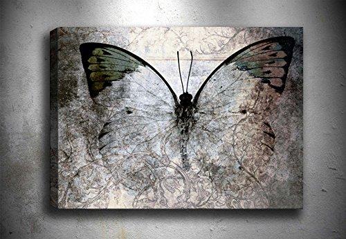 Oyo casa mariposa lienzo con marco Lienzo de cuadro de decoración de la pared