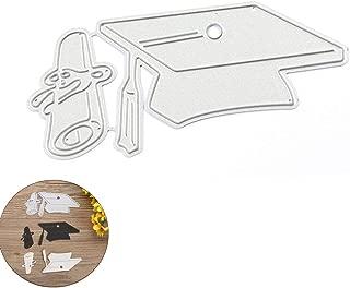 SUSHAFEN 1Piece Graduation Metal Cutting Dies Bachelor Cap Cutting Dies Stencil for DIY Scrapbooking Photo Album Embossing Paper Cards Decorative Crafts