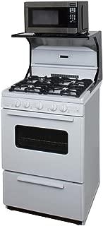 Premier 24 Inch Black Microwave Shelf