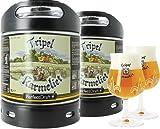 Pack 2 fûts de bière 6 litres Perfectdraft - 2 verres associés (Tripel Karmeliet + 2 verres - 20 cl)