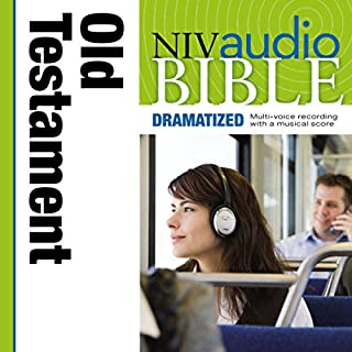 Dramatized Audio Bible - New International Version, NIV: Old Testament                   Written by:                                                                                                                                 Zondervan                               Narrated by:                                                                                                                                 full cast                      Length: 56 hrs and 27 mins     2 ratings     Overall 3.5
