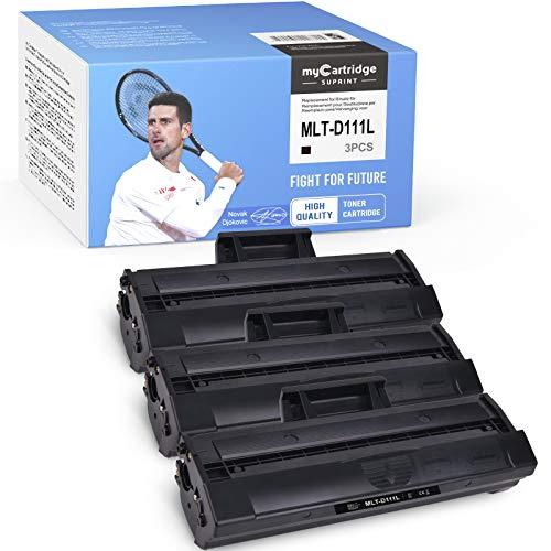 3 myCartridge SUPRINT MLT-D111L compatibili con Samsung MLT-D111L Nero Toner per Samsung Xpress M2070W M2026W M2070 M2026 M2070FW M2020 M2022W M2020W M2022