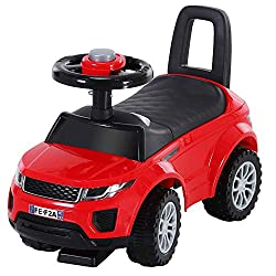 ✅PUSH ALONG WALKER: Three in one, it combines a foot-to-floor design walker with a slider and pushing ride-on to encourage them to exercise and walk along whilst having lots of fun. ✅INTERACTIVE FEATURES: Features a moving steering wheel and horn to ...