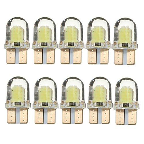 NUOLUX T10 LED Ampoules Lampe Veilleuse Voiture Lumiere Blanc 12V 5W 10 Pièces