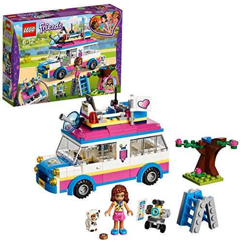 LEGO Friends - Vehículo de Operaciones de Olivia, Set de Construcción con Mini...