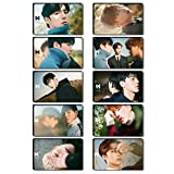 Chutoral 10 Stück/Set Monsta X – Fantasia X Mini Album [4 Set] CD-Fotobuch, Fotokarten, Poster,...