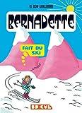 Bernadette fait du ski
