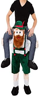 Halloween Carry Mascot Me Ride On Green Beer Guy Oktoberfest Costume Ride on Costume
