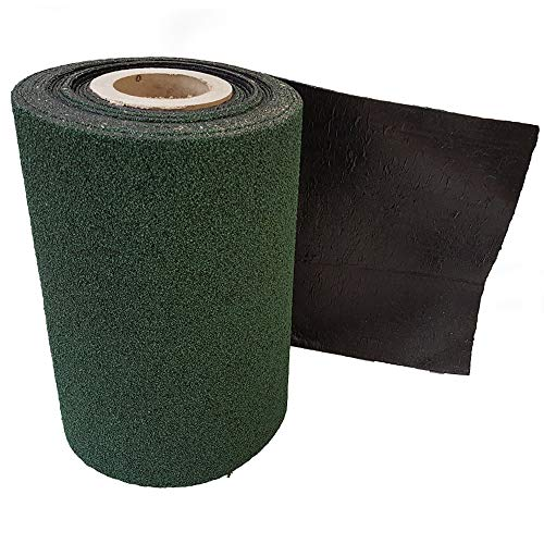 Felt Shingles Forest Green Shed Roof Roll Out Ridge Roll 10m with Nails and Adhesive
