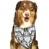 YAGEAD Pañuelo para Perros Cachorro y pañuelos para Mascotas, Vintage Barroco...