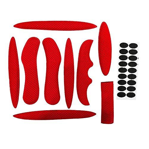HIMETSUYA 1Satz Helmpolster-Set für Fahrrad, Universal-Schaumstoff-Pads für Airsoft Helm, Eva-Polster für Fahrrad, Motorrad und Radhelm