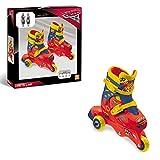 Mondo- Disney Pixar Cars ars 3-3 in Line Skates, 28065, 29/32
