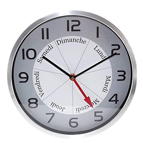 FISHTEC ® Reloj Bon Jour- Indicación día de la Semana