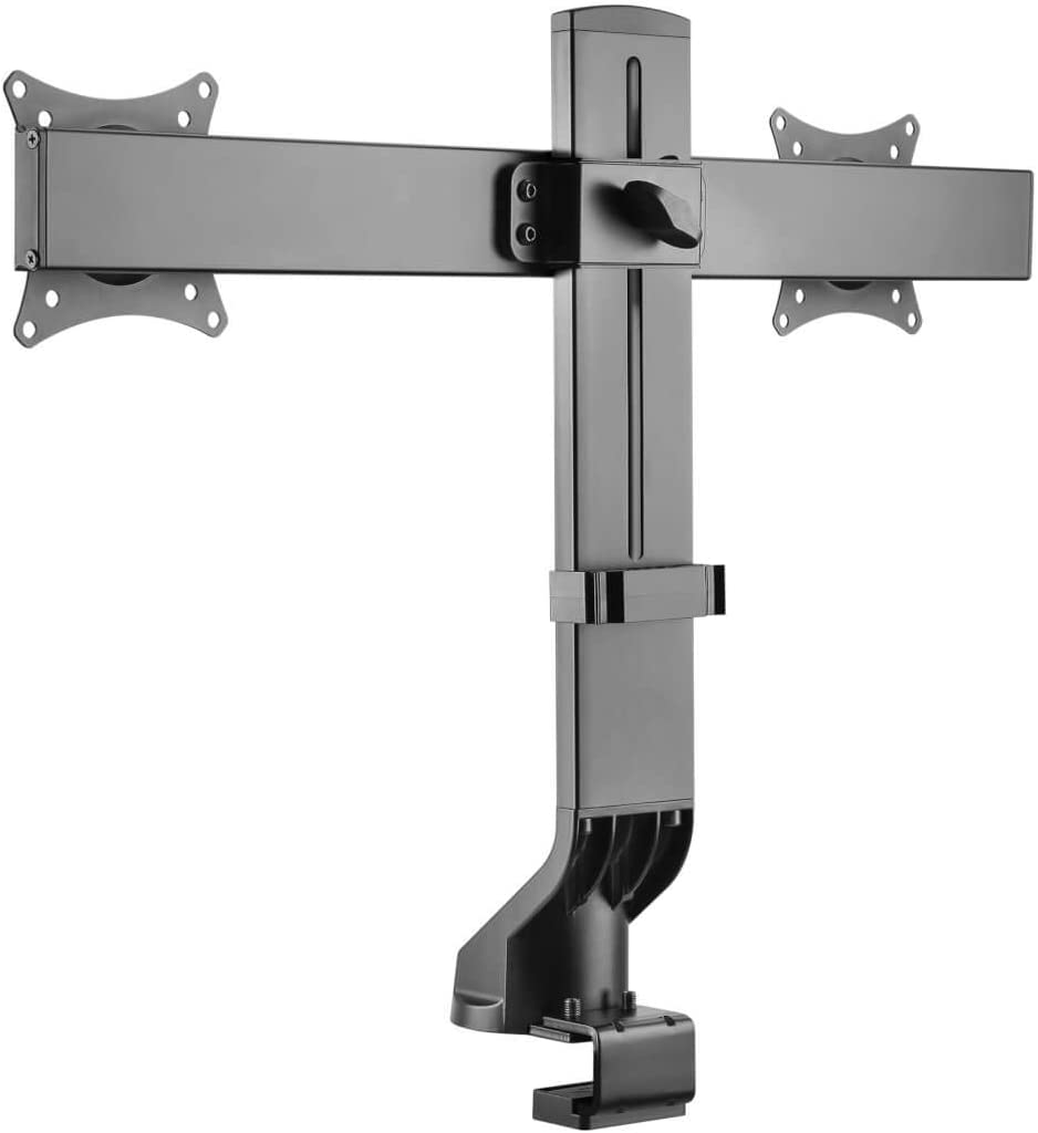 Tripp Lite Dual-Display Monitor Arm w/Desk Clamp Height Adjustable 17-27in (DDR1727DC)