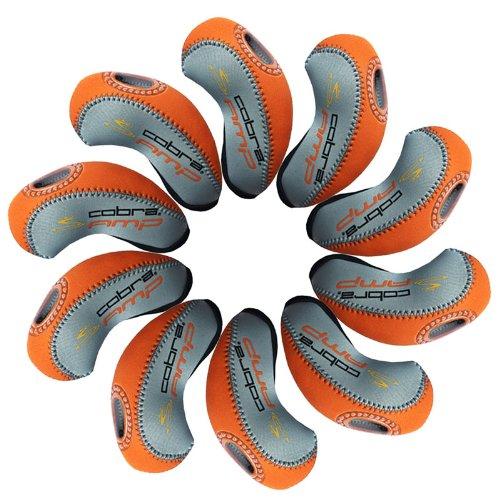 Cobra AMP capuchon fer de golf 10pcs gris/Orange MT/cb01
