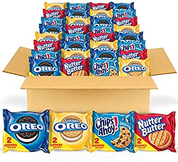 56-Pack Nabisco Cookie Variety Pack (OREO, Chips Ahoy, Nutter Butter)