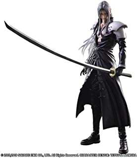 Play Arts Kai Final Fantasy 7 VII Sephiroth PVC Action Figure Statue 3D Model