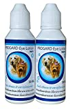 Progadr 2 Box 100 ML. Pet Eye Lotion & Pet Eye Drop, Pet Eye Health Ointment for Pet Eye Care, Dog & Cat Eye Drops, Eye Cleaner for Dogs & Cats Tear Stain, Dirt Crust, Relieve Dry Eye for All Animal