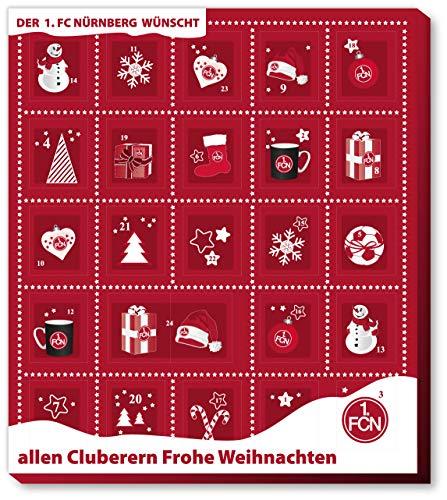Fussball 1. FC Nürnberg Premium Adventskalender mit Poster Weihnachtskalender