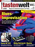 Blues Improvisation Bluestonleiter auf dem Klavier in der tastenwelt