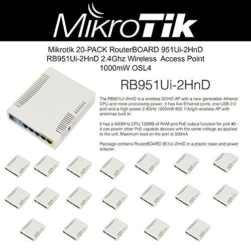Mikrotik Router RB/951UI-2HnD 5 Ethernet