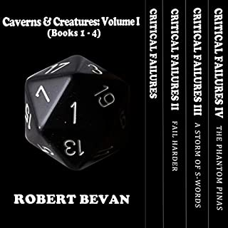 Caverns and Creatures: Volume I (Books 1-4) cover art