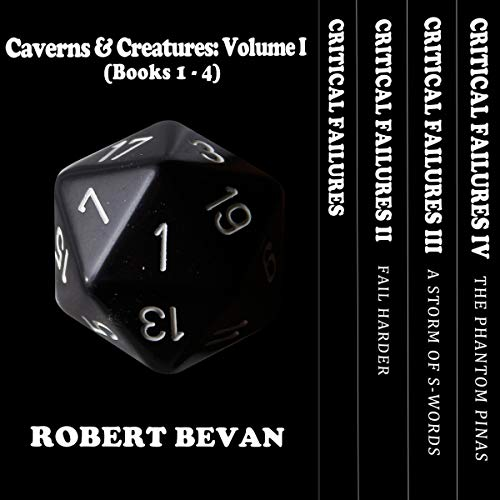 Caverns and Creatures: Volume I (Books 1-4) audiobook cover art