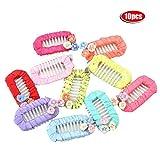 10 Stück Haarklammern Carino Fiore Pet Topknot Lovely Cats Hunden Forcelle Pet Grooming Headwear Pet Accessoires für Haar