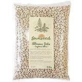 Sunseed Altramuz Dulce Lupinus. Semilla Apta para Alimentar Aves, Peces, pájaros, loreos, periquitos, cotorras 2.5 Kg