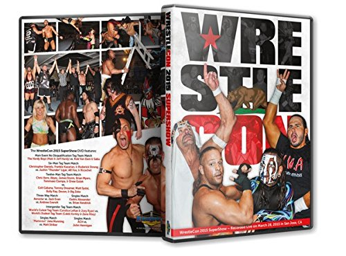 Wrestlecon security 2015 Blu-Ray Bombing free shipping Supershow