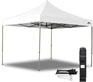 Caravan Canopy 21003306011 10 X 10 Foot Straight Leg Display Shade Commercial, White Canopy, 10 by 10