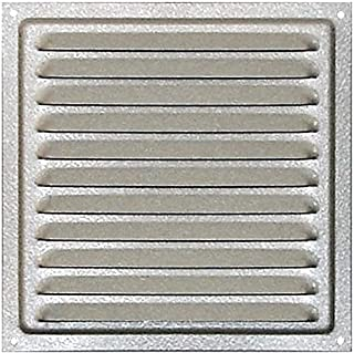 WJUAN Grille D/'a/ération en Aluminium /à Encastrer Grille de Ventilation 400 mm Angulaire pour la Ventilation des Placards et des Chambres Noir