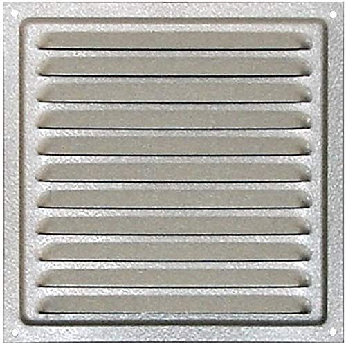 HVAC Air Vent Galvanized Steel, Ventilation Grille with Protective Net, Metal Air Vent, Outdoor Ventilation Grid, Inlet Outlet Air Vent. (11.6