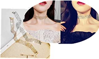 Sophie Land 2PCS Lace Choker Necklace Valued Set Adjustable Size Women Teen Girl Fashion