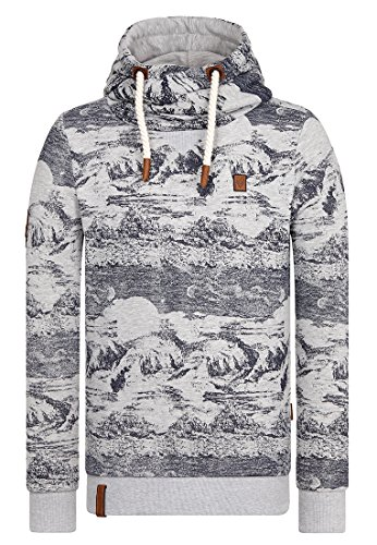Naketano Herren Kapuzenpullover You Do Not Deserve Hoodie