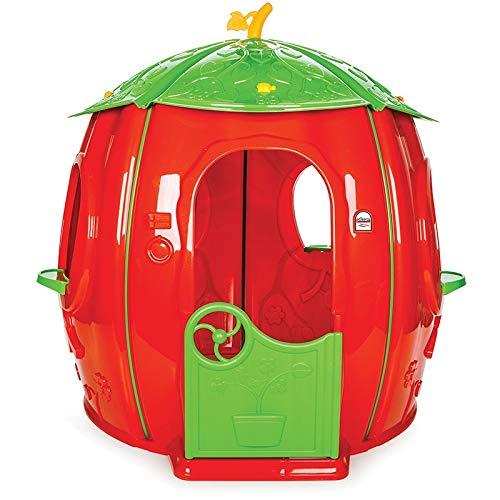 casetta da giardino per bambini casetta per bambini grande casetta per bambini per esterno a forma di cigliegia Casetta per Bambini Casa Gioco Tradizionale Grande 142x141 cm