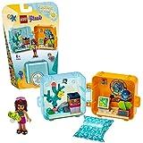 LEGO - Friends Il cubo delle vacanze di Andrea, Serie 3 Mini Set da Viaggio da Collezione, 41410