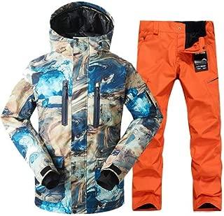 BEESCLOVER Men Ski Jacket Pant Snowboard Suit Windproof Waterproof Super Warm Male Outdoor Sport Wear Winter Clothing Trouser Set